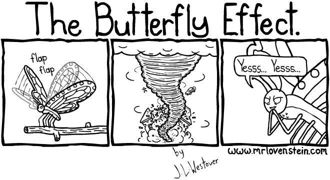 تأثير الفراشة Source: funnyjunk.com/funny_pictures/4075145/Butterfly+effect/